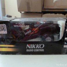 Radio Control: JEEP RADIO CONTROL NIKKO ESCALA 1/24. Lote 132888022