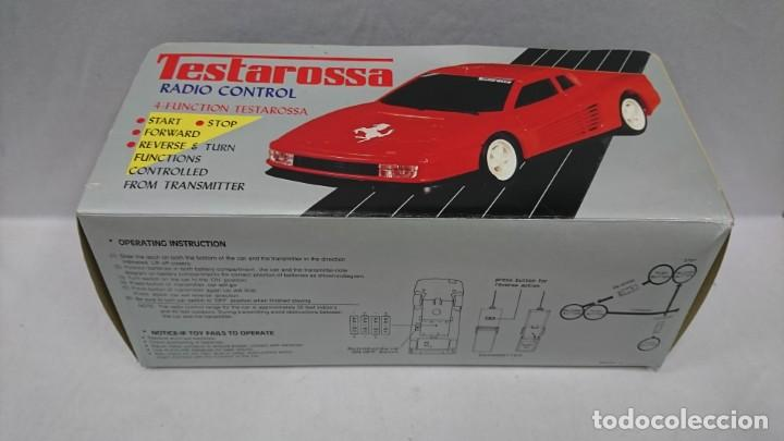 Radio Control: TESTAROSSA RADIO CONTROL, AÑOS 80,NUEVO - Foto 4 - 133443542