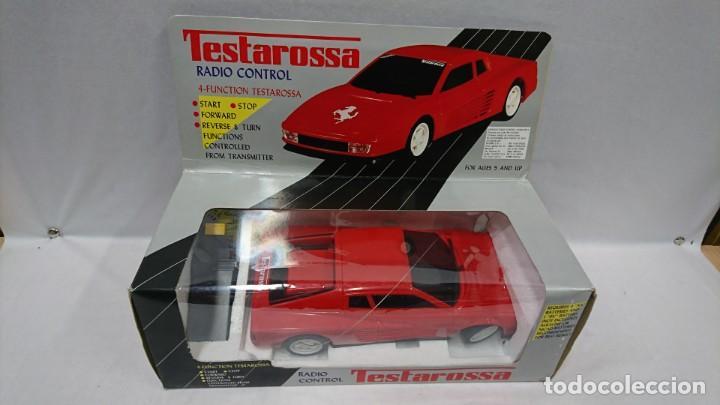 TESTAROSSA RADIO CONTROL, AÑOS 80,NUEVO (Juguetes - Modelismo y Radiocontrol - Radiocontrol - Coches y Motos)
