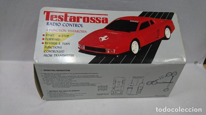 Radio Control: TESTAROSSA RADIO CONTROL, AÑOS 80,NUEVO - Foto 5 - 133443622