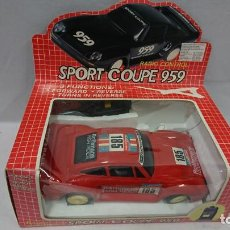 Radio Control: SPORT COUPE 959 RADIO CONTROL, AÑOS 80,NUEVO . Lote 133443866