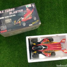 Radio Control: COCHE RC MAX TURBO BLASTER TAIYO JAPAN AÑOS '90. Lote 133488211