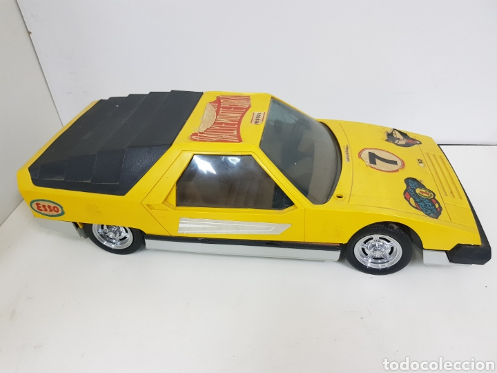 Radio Control: Werner Mach 1 radiocontrol amarillo 7 rally Montecarlo 1978 fabricado en España - Foto 3 - 133553143