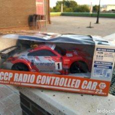 Radio Control: NISSAN XANAVI 1/10 RADIO CONTROL REVISADA FUNCIONANDO CON BATERIA Y CARGADOR . Lote 133856662