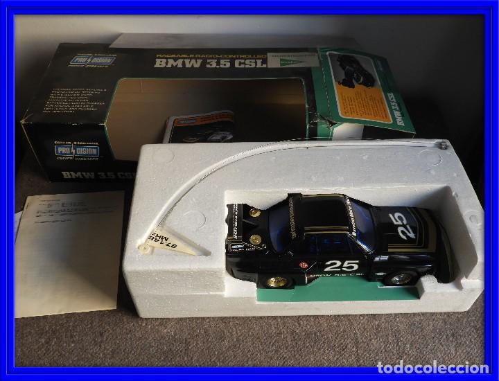 BMW 3.5 CSL DE RADIO CONTROL CON CAJA Y MANUAL (Juguetes - Modelismo y Radiocontrol - Radiocontrol - Coches y Motos)