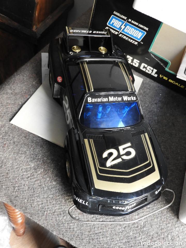 Radio Control: BMW 3.5 CSL DE RADIO CONTROL CON CAJA Y MANUAL - Foto 4 - 135332046