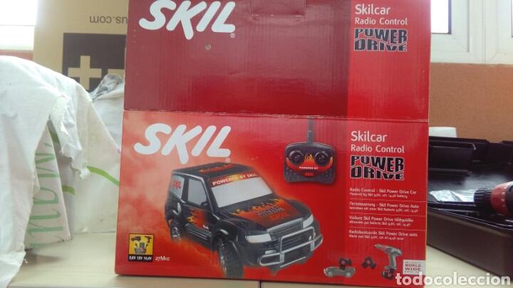 COCHE SKILL - SILCAR RADIO CONTROL POWER DRIVE, AÑOS 90. (Juguetes - Modelismo y Radiocontrol - Radiocontrol - Coches y Motos)