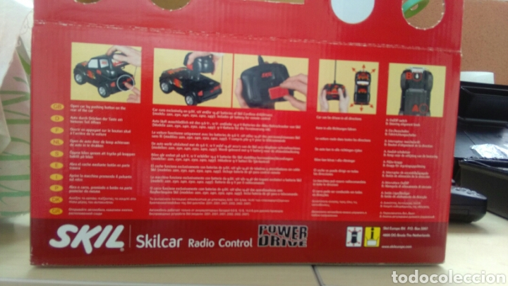 Radio Control: COCHE SKILL - SILCAR RADIO CONTROL POWER DRIVE, AÑOS 90. - Foto 6 - 138287274