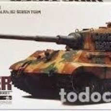 Radio Control: TAMIYA - GERMAN KING TIGER RADIO CONTROL 36204 1/16. Lote 139099150