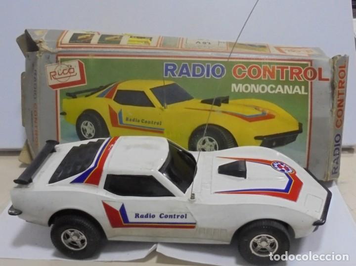 COCHE RADIO CONTROL. MONOCANAL. MARCA RICO. REF.31. CON CAJA ORIGINAL. EL DE LA FOTOS. LEER (Juguetes - Modelismo y Radiocontrol - Radiocontrol - Coches y Motos)