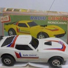 Radio Control: COCHE RADIO CONTROL. MONOCANAL. MARCA RICO. REF.31. CON CAJA ORIGINAL. EL DE LA FOTOS. LEER. Lote 150959394