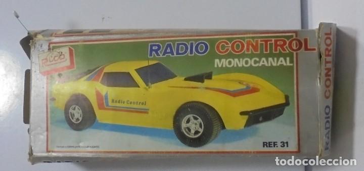 Radio Control: COCHE RADIO CONTROL. MONOCANAL. MARCA RICO. REF.31. CON CAJA ORIGINAL. EL DE LA FOTOS. LEER - Foto 2 - 150959394