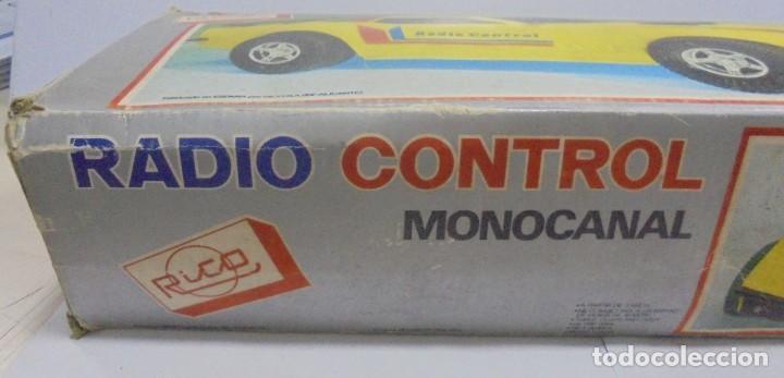Radio Control: COCHE RADIO CONTROL. MONOCANAL. MARCA RICO. REF.31. CON CAJA ORIGINAL. EL DE LA FOTOS. LEER - Foto 17 - 150959394