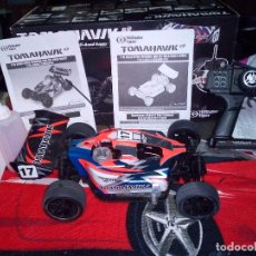 Radio Control: TOMAHAWK -THUNDER TIGER NITRO-BX 4WD 2.4GHZ BUGGY - RED -. Lote 139826722