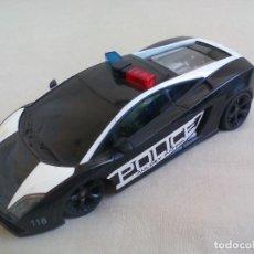 Radio Control: AULDEY PATROL POLICE COCHE RADIO CONTROL LAMBORGHINI GALLARDO POLICÍA RADIOCONTROL. 17 CM. Lote 139906538