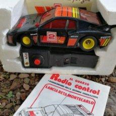 Radio Control: LANCIA BETA MONTECARLO- POLISTIL RADIO CONTROL (MADE IN ITALY) EN CAJA Y INSTRUCCIONES, SIN USO.. Lote 140007898
