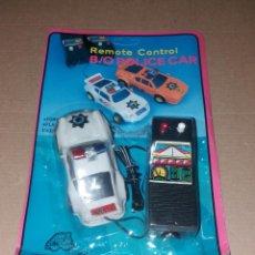 Radio Control: JUGUETE COCHE CON MANDO. PORSCHE 959 POLICÍA, EN BLISTER SIN ABRIR, AÑOS 90. Lote 140037930