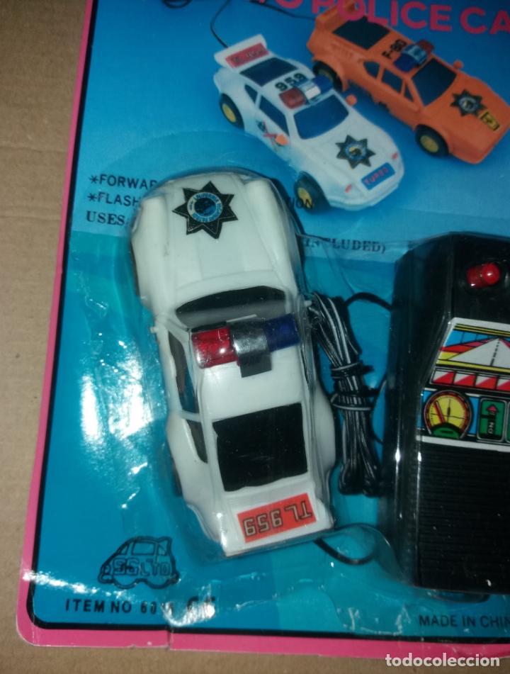 Radio Control: Juguete coche con mando. Porsche 959 policía, en blister sin abrir, años 90 - Foto 4 - 140037930