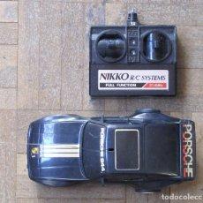 Radio Control: PORSCHE 944. NIKKO. MADE IN SINGAPORE. TELEDIRIGIDO. CON MANDO.. Lote 140769154