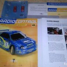 Radio Control: RADIOCONTROL , CONSTRUYE Y PILOTA, SUBARU N° 45. ALTAYA.. Lote 141714334