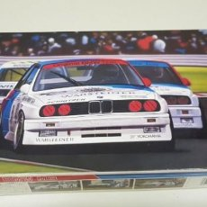 Radio Control: J- BMW M3 1:24 FUJIMI GROUPA KIT 06097 MADE IN JAPAN 1987 NEW OLD STOCK. Lote 143614902