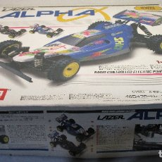Radio Control: COCHE BUGGY RC RADIO CONTROL LAZER ALPHA, KYOSHO 1992, MADE IN JAPAN. Lote 143650890