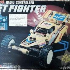 Radio Control: AÑOS 90 COCHE TAIYO RADIO CONTROLLED JET FIGHTER REFERENCIA 8754 NUEVO EN CAJA TIPO BUGGY. Lote 143707198