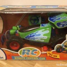 Radio Control: RC: WIRELESS REMOTE CONTROL CAR (TOY STORY COLLECTION). EDICIÓN THINK WAY.. Lote 143918222