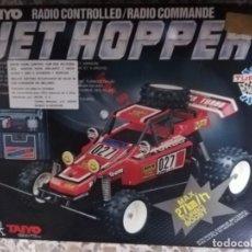 Radio Control: AÑOS 90 COCHE TAIYO RADIO CONTROLLED JET HOPPER EN CAJA TIPO BUGGY (VER DESCRIPCION). Lote 143996382