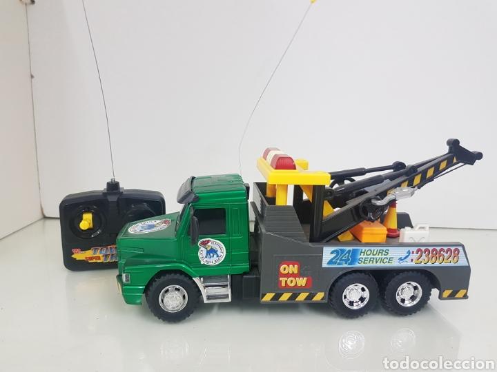 X Funcionamiento Teledirigido Con Mando 9 Atrás Y 28 5 Cm Hacia Delante Sin Grua Comprobar Camion wONnPX8k0