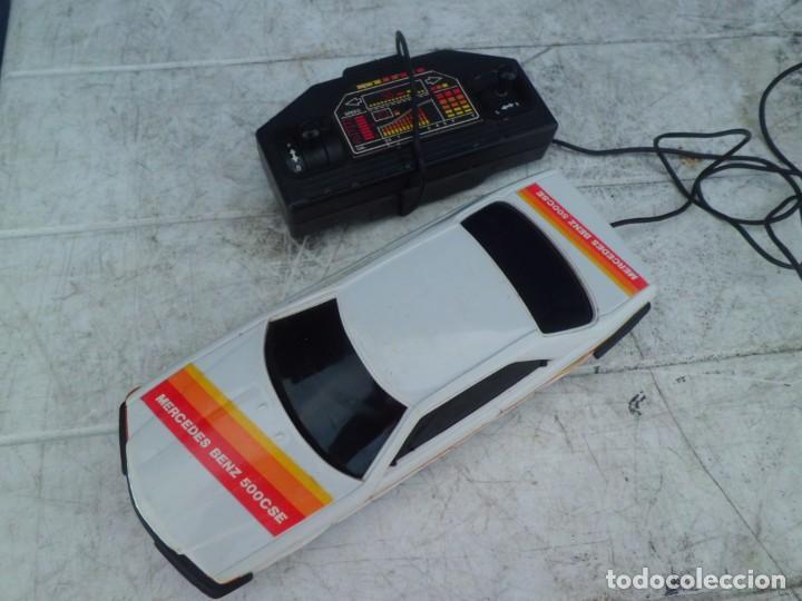 COCHE MERCEDES BENZ 500 CSE TELEDIRIGIDO AÑOS 80 (Juguetes - Modelismo y Radiocontrol - Radiocontrol - Coches y Motos)
