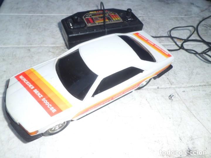 Radio Control: COCHE MERCEDES BENZ 500 CSE TELEDIRIGIDO AÑOS 80 - Foto 2 - 147689954