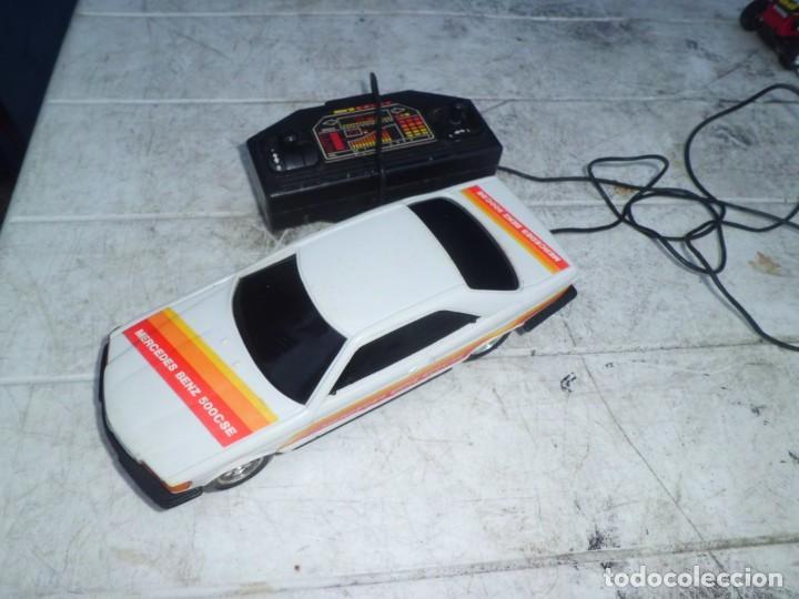 Radio Control: COCHE MERCEDES BENZ 500 CSE TELEDIRIGIDO AÑOS 80 - Foto 3 - 147689954