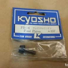 Radio Control: S9 - KYOSHO FINAL PINION FD-6 350 VINTAGE NEW OLD STOCK. Lote 176242269