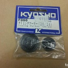 Radio Control: S9 - KYOSHO FD50 TIMING PULLEY 20-24 250 VINTAGE NEW OLD STOCK. Lote 148068026