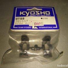 Radio Control: 918- KYOSHO FRONT HUB SET - OT55 - 250 VINTAGE NEW OLD STOCK. Lote 148073626