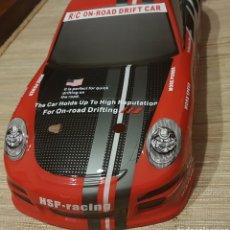 Radio Control - CARROCERIA PORSCHE 911 ROJA RADIOCONTROL ESC 1:10 44,5x20 CM NUEVA DESCATALOGADA - 148496041