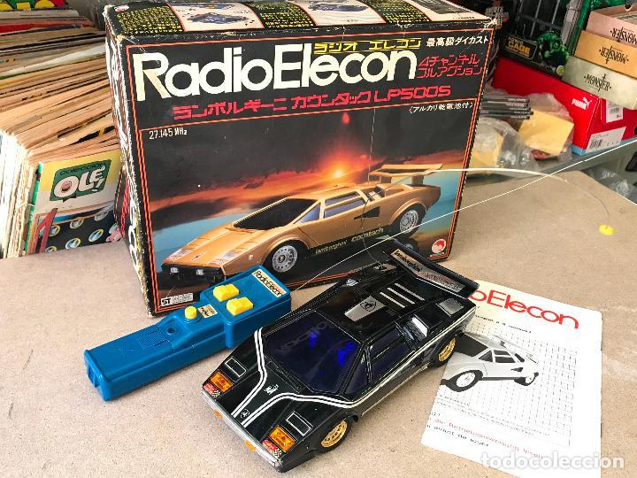 RADIO ELECON SHINSEI LAMBORGHINI EN METAL RC MADE IN JAPAN (Juguetes - Modelismo y Radiocontrol - Radiocontrol - Coches y Motos)