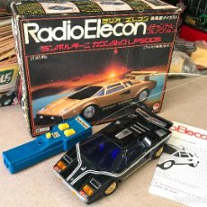Radio Control: RADIO ELECON SHINSEI LAMBORGHINI EN METAL RC MADE IN JAPAN. Lote 148954334