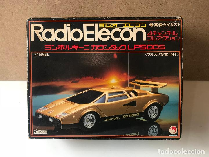 Radio Control: RADIO ELECON SHINSEI LAMBORGHINI EN METAL RC MADE IN JAPAN - Foto 2 - 148954334