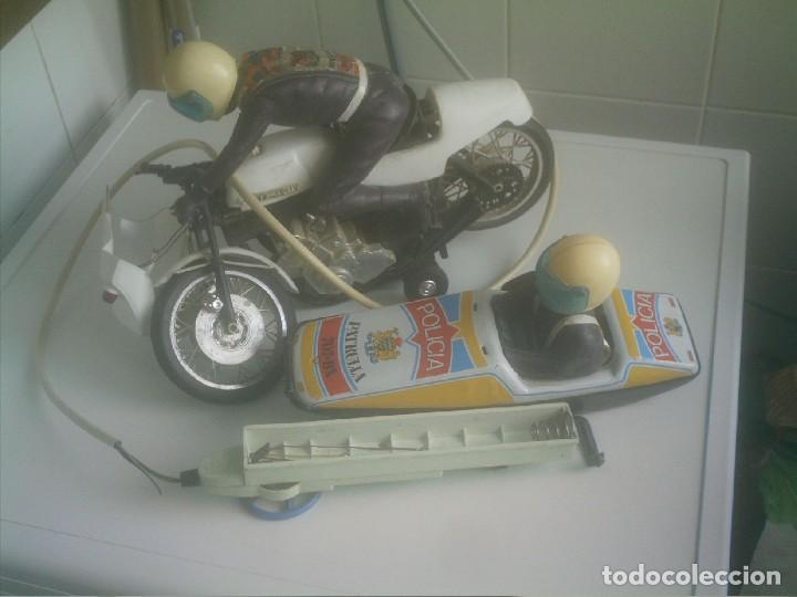PATRULLA POLICIA CON MOTO Y SIDECAR (Juguetes - Modelismo y Radiocontrol - Radiocontrol - Coches y Motos)