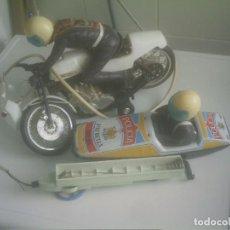 Radio Control: PATRULLA POLICIA CON MOTO Y SIDECAR . Lote 148987038