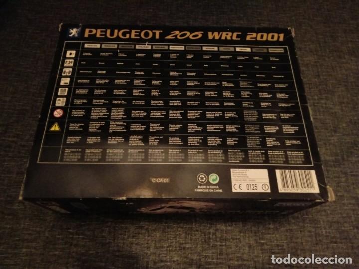 Radio Control: NIKKO PEUGEOT 206 WRC RADIO CONTROL SYSTEM. EVOLUTION SERIES. NUEVO PRECINTADO - Foto 2 - 149568902