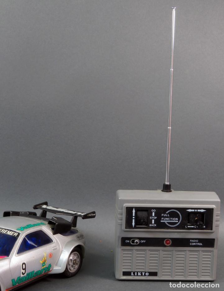 PORSCHE 928 RADIOCONTROL LIKTO MADE IN HONG KONG AÑOS 80 FUNCIONA (Juguetes - Modelismo y Radiocontrol - Radiocontrol - Coches y Motos)