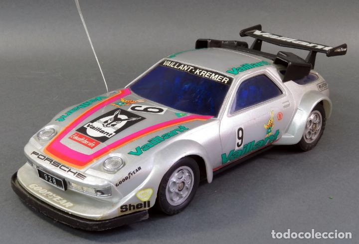 Radio Control: Porsche 928 Radiocontrol Likto Made in Hong Kong años 80 Funciona - Foto 7 - 191683997