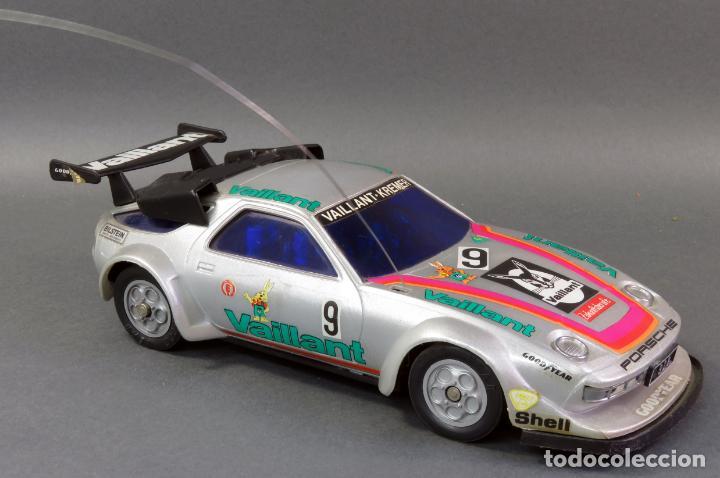 Radio Control: Porsche 928 Radiocontrol Likto Made in Hong Kong años 80 Funciona - Foto 2 - 191683997
