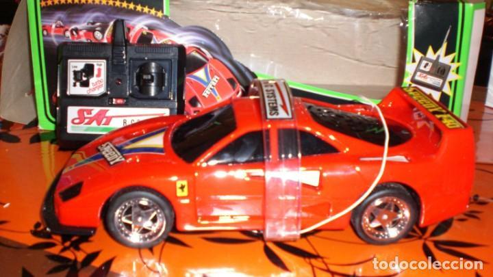COCHE FERRARI F40 AUTO CONTROL ACROBATICO -ESCALA 1/15 (Juguetes - Modelismo y Radiocontrol - Radiocontrol - Coches y Motos)