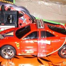 Radio Control: COCHE FERRARI F40 AUTO CONTROL ACROBATICO -ESCALA 1/15. Lote 150626978