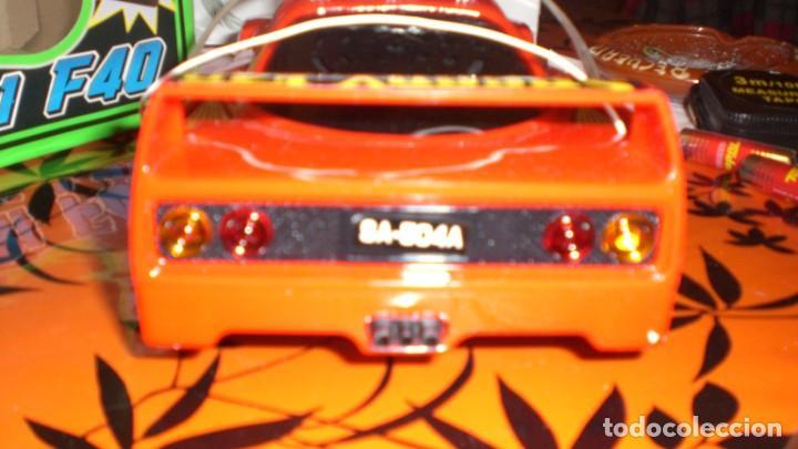 Radio Control: COCHE FERRARI F40 AUTO CONTROL ACROBATICO -ESCALA 1/15 - Foto 5 - 150626978