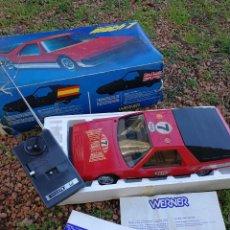 Radio Control: ANTIGUO COCHE RADIOCONTROL- WERNER MACH 1, RALLY MONTECARLO ROJO Nº7, (MADE IN SPAIN)1978, EN CAJA.. Lote 151404966